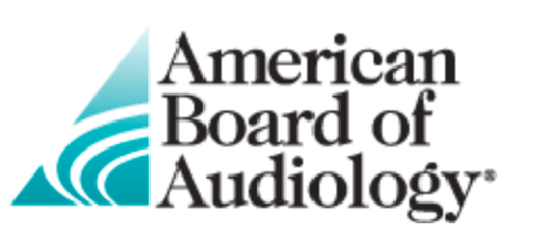 logo for the American board of audiology