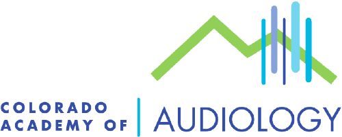 logo for the Colorado Academy of audiology